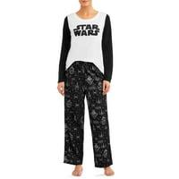 Matching Family Pajamas Star Wars Women's 2-Piece Sleep Set