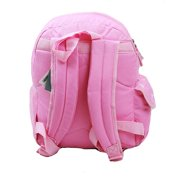 d53174b979 Small Backpack - - Pink New School Bag Book Girls 811089 Image 3 of 3