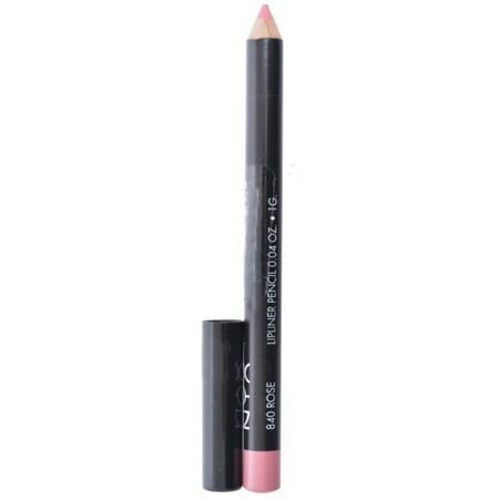 2 Pack - NYX Professional Makeup Slim Lip Liner Pencil, [840] Rose 0.04 oz