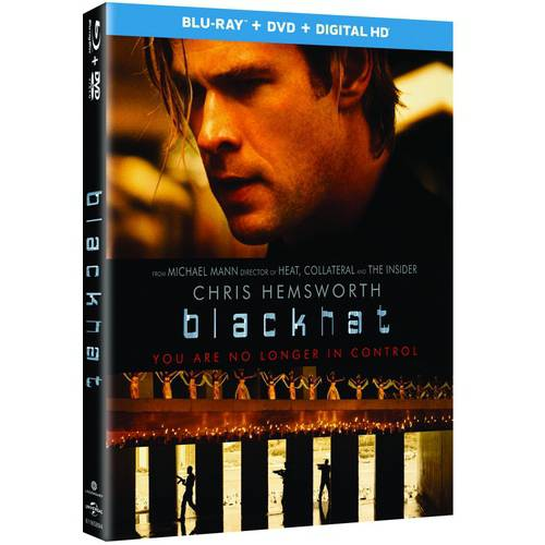 Blackhat (Blu-ray   DVD   Digital HD) (With INSTAWATCH) (Widescreen)