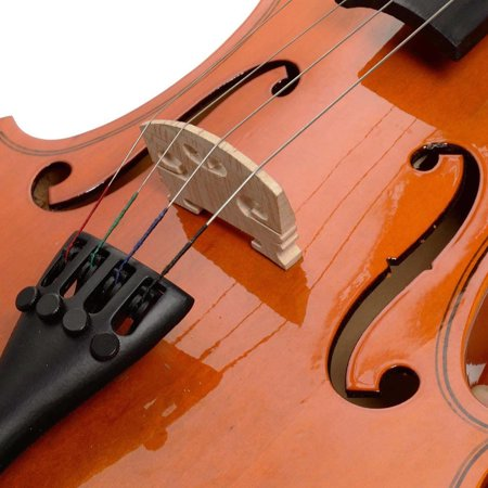 Costway Full Size 4/4 Natural Acoustic Violin Fiddle with Case Bow - image 6 de 9