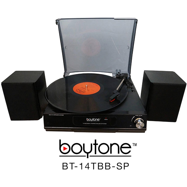 Boytone BT-14TBB-SP Multi-RPM Turntable by Boytone