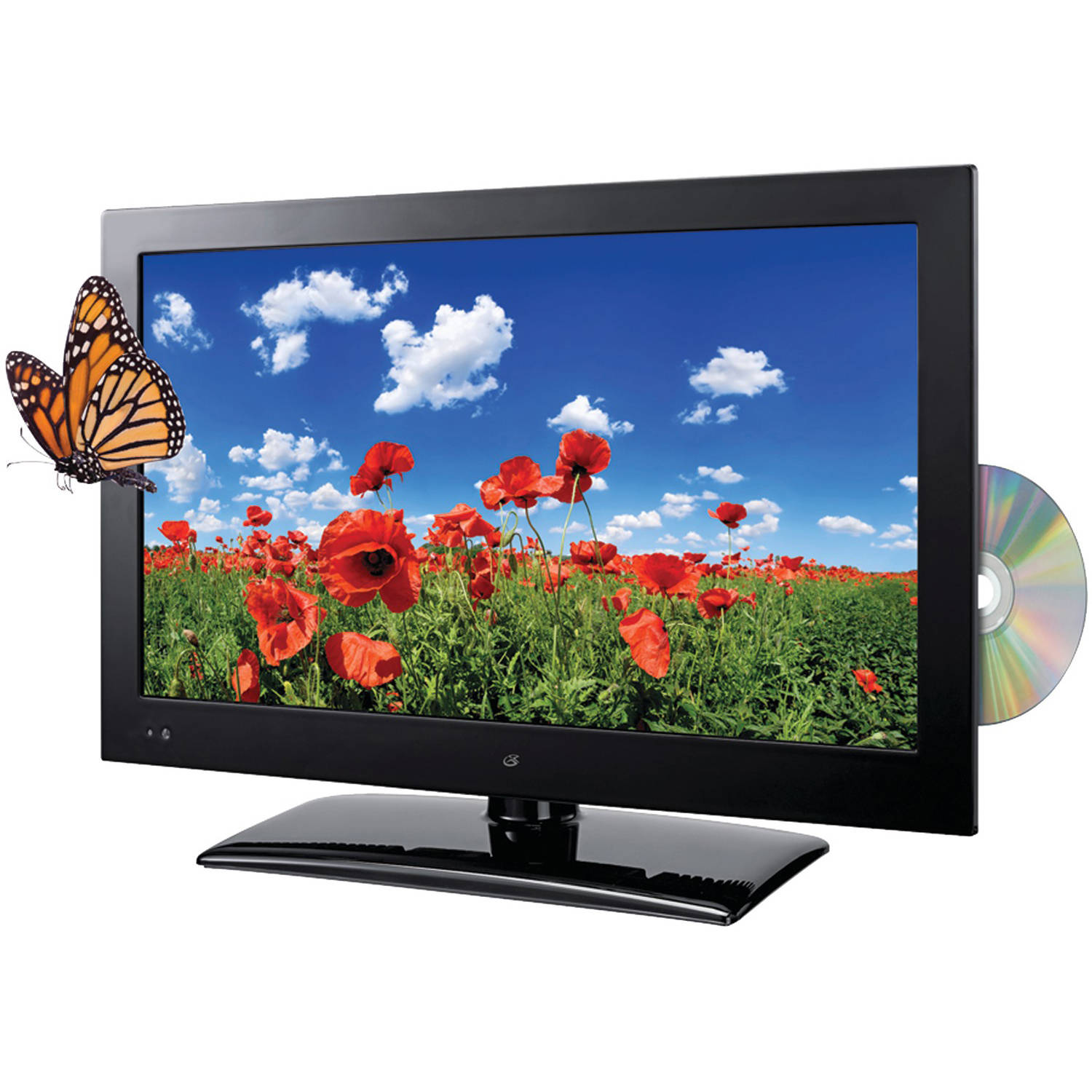 "GPX 22"" LED 1080p HDTV-DVD Combo TDE2282B by GPX"