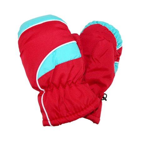 CTM® Kid's Waterproof Ski Mittens thumbnail