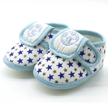 Outtop Newborn Infant Baby Star Girls Boys Soft Sole Prewalker Warm Casual Flats Shoes