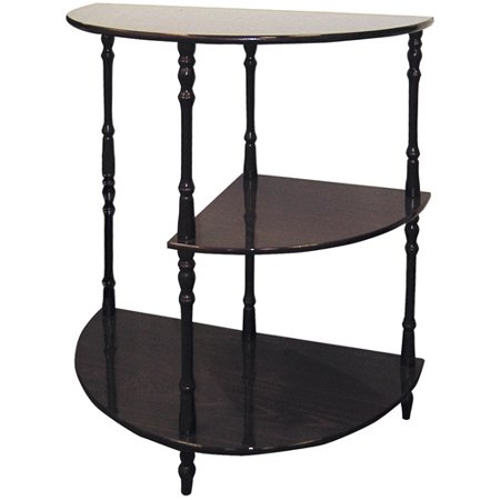 Cherry 3-Tier Half Table Cherry Square Butterfly Table
