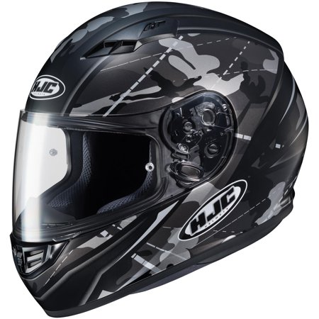 HJC CS-R3 Songtan Helmet Semi-Flat Black (MC-5SF) (Black, Small)
