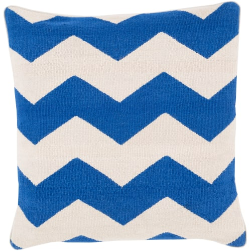 Surya BD-003 Square Indoor Decorative Pillow with Down or Polyester Filling from the Bold Geo Collection
