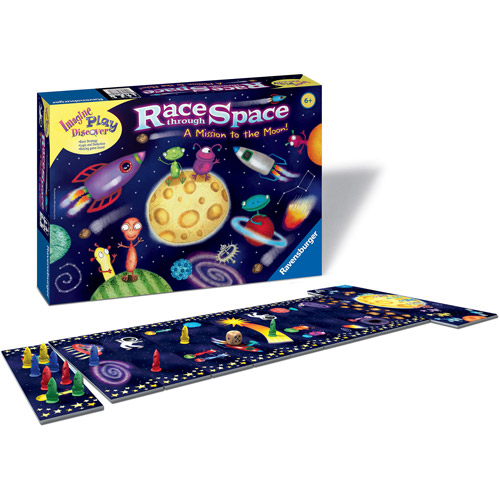 Ravensburger Race Through Space Children's Game