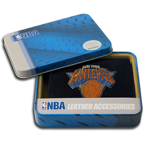 NBA - Men's New York Knicks Embroidered Trifold Wallet