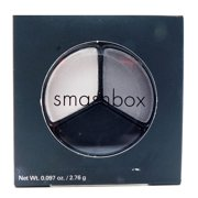 Smashbox Cosmetics Photo Op Eye Shadow Trio Dark Room :Opal, Granite, And Blackout .094 Oz.