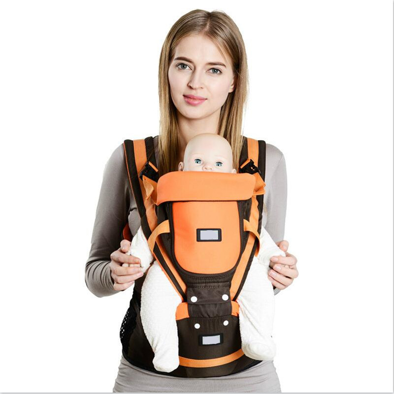 Baby Carrier Baby Sling Hipseat Baby Wrap Backpack Breathable Infant Carrier Many Positions Backpacks for... by VirtualStoreUSA.com