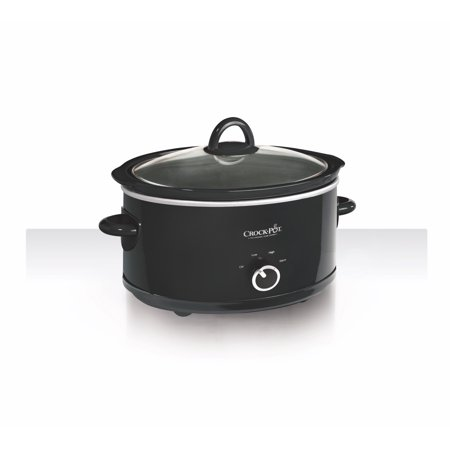 Crock-Pot 7-Quart Manual Slow Cooker, Black