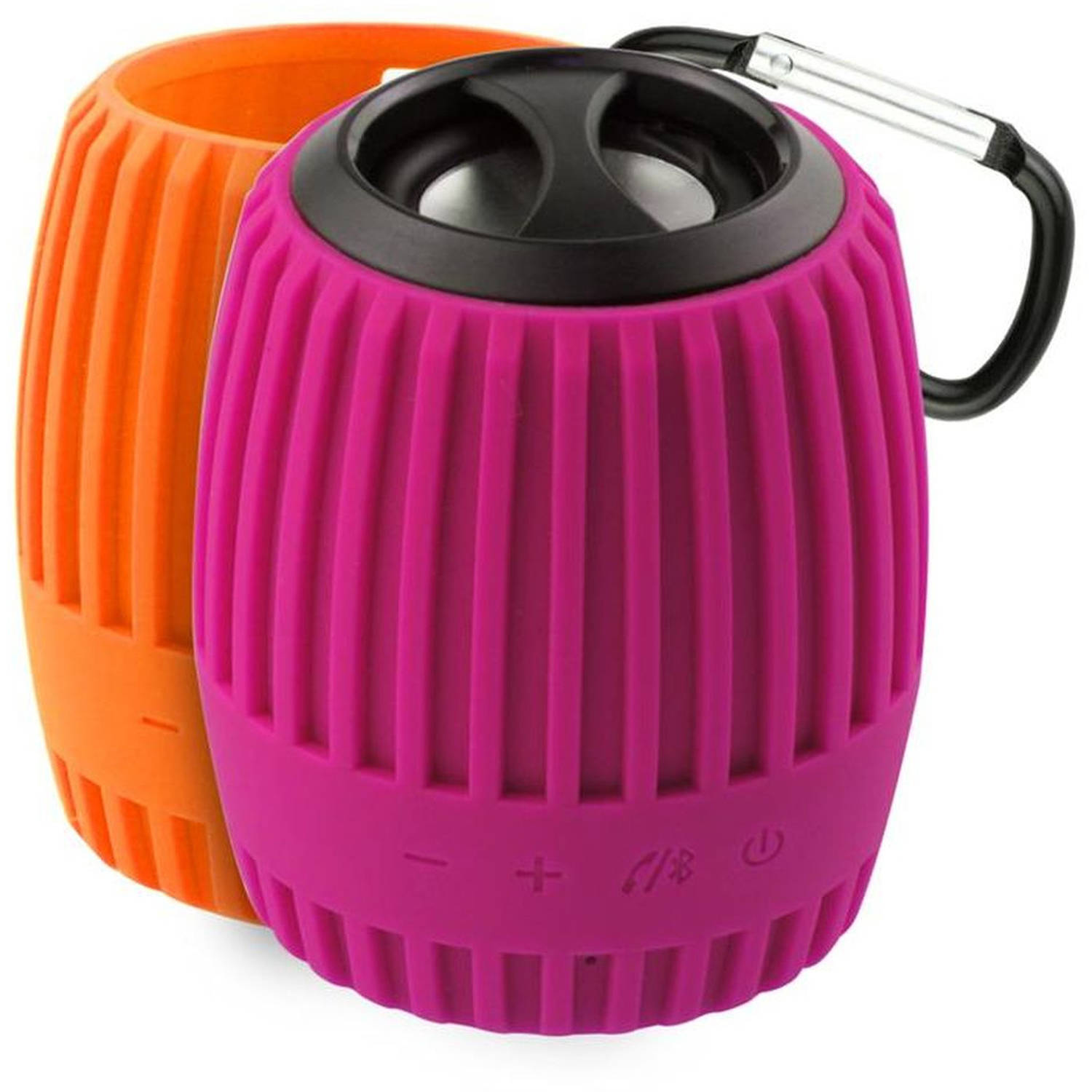Durapod Weatherproof Speaker, Pink/Orange