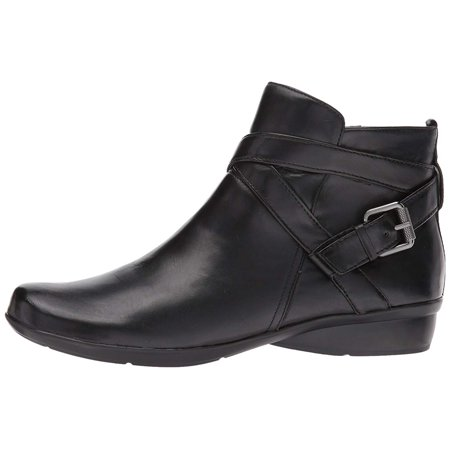 Naturalizer Womens Cassandra Leather Padded Insole Booties