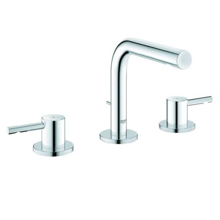 Grohe Infiniti Brushed Nickel Essence Wideset Bathroom Faucet