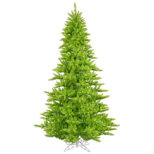 Vickerman 4.5' Lime Fir Artificial Christmas Tree with 250 Mini Lights