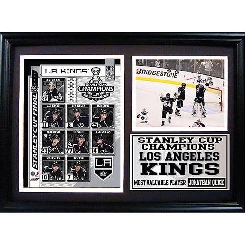 NHL Los Angeles Kings Photo Stat Frame, 12x18