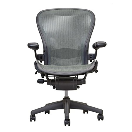 Herman Miller Aeron Chair Size C Fully Featured Gray, Executive Office Chair