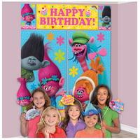 Trolls Girls Child Birthday Party Decorations & Supplies