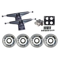 KRYPTONICS CLASSIC Truck Wheel Pack 70mm CLEAR Core 7.0 Black