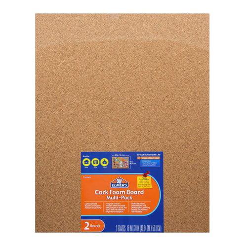 Elmer's Cork Foam Board, 16x20, 2pk by ELMER'S