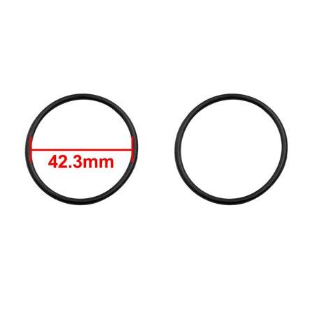 100pcs Rubber O Ring Washer Car Air Conditioning Gasket Sealing 42.3 x 2.65mm - image 1 de 2