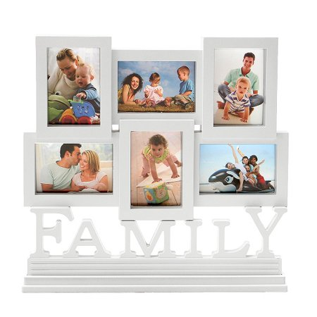 Family Memory Photo Album Multi Frames Wall Hanging Desk Stand Home ...
