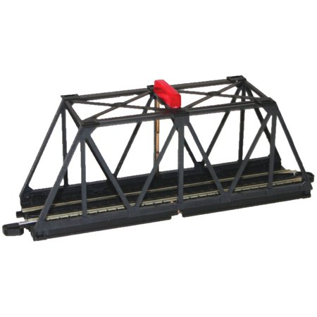 Bachmann Trains E-Z Track Truss Bridge with Blinking Light, HO (Scale Trains Bachmann Ez Track)