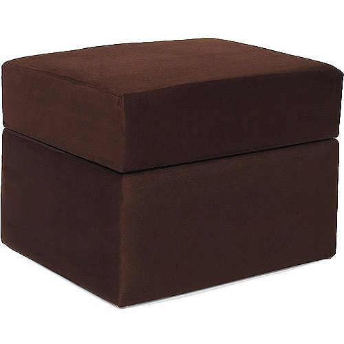 Newco International 45015 Devon Ottoman Chocolate Micro