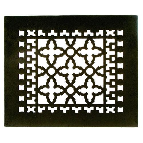 Image of Acorn GL5BG 10 x 8 Cast Iron Air Register - Black