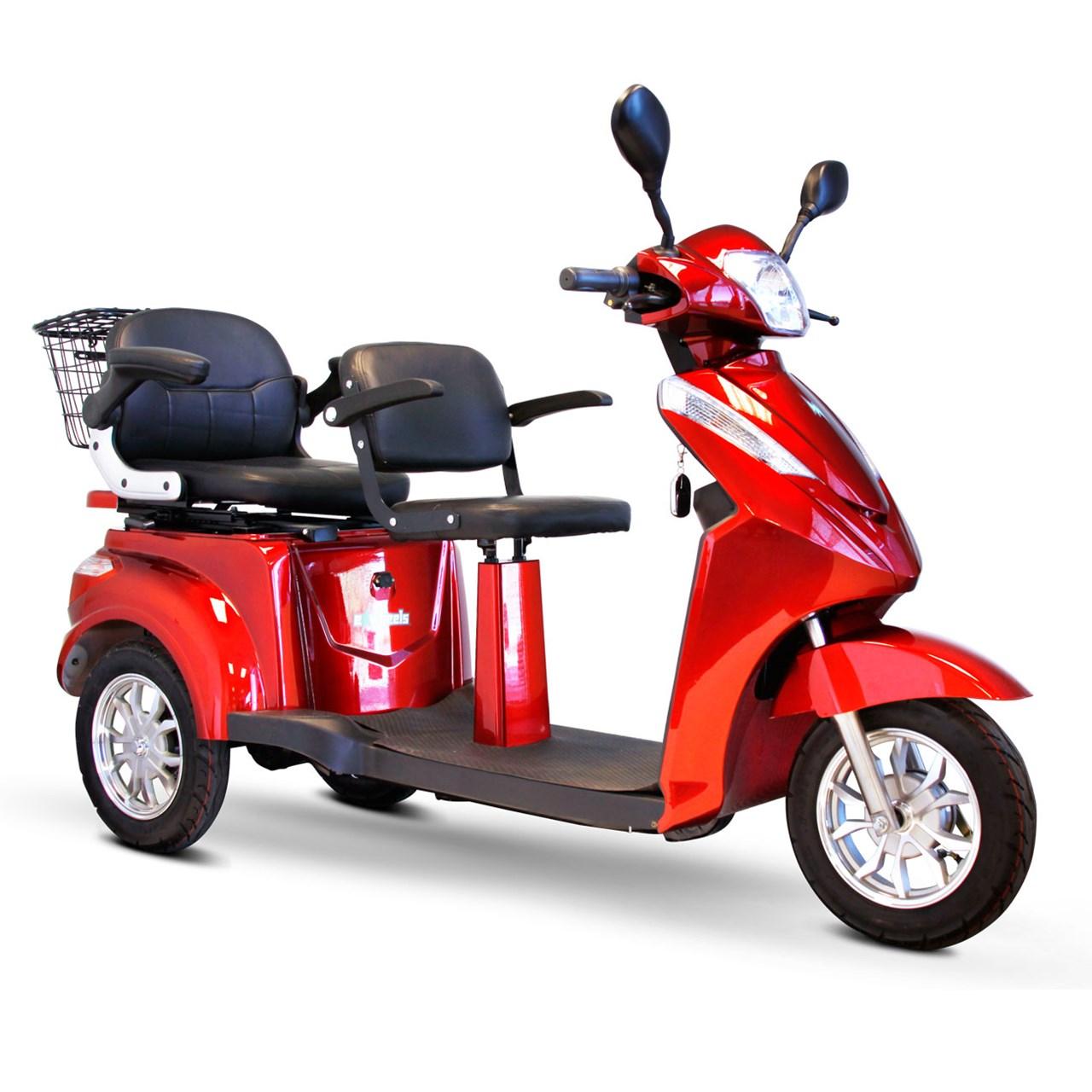 EWheels EW-66 2-Passenger Heavy-Duty Scooter by Electric Wheels LLC