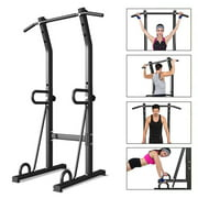 Dip Station Power Tower Pull Push Chin Up Bar Fitness Body Exercise Equipment