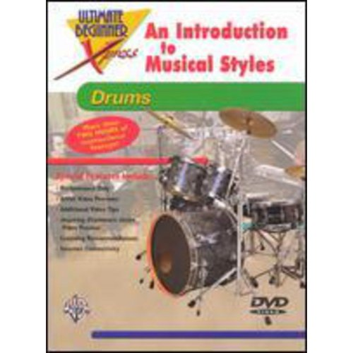 Alfred 00-999047 Ultimate Beginner Xpresso- An Introduction to Musical Styles for Drums - Music Book