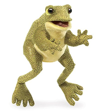 Folkmanis Funny Frog Hand Puppet - image 3 of 3