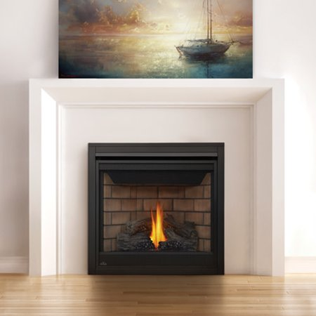 Napoleon B35TE 20000 BTU Built-In Direct Vent Natural Gas Fireplace with Safety ()