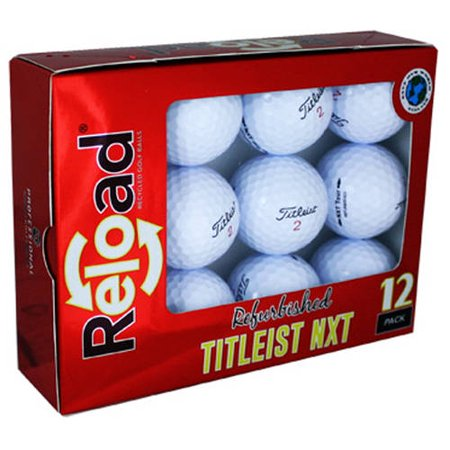 - Titleist NXT Tour S Golf Balls, Used, Mint Quality, 12 Pack