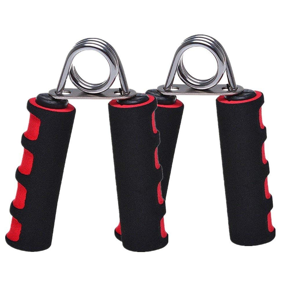 Finger Strengthener for Athletes Pianists Therapy Hand Exercise Xiaoai Hand Grip Strengthener Adjustable Resistance 22-88 Lbs Grip Exerciser Hand Squeezer Black Forearm Grip