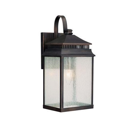 Capital Lighting 9111Ob 1 Light Outdoor Wall Lantern From The Sutter Creek Collection  Old Bronze