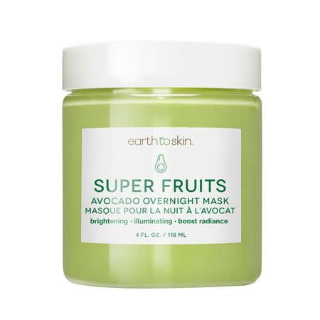Earth to Skin Super Fruits Avocado Overnight Mask , 4
