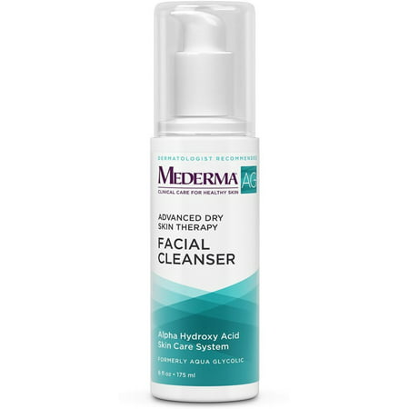Mederma (Aqua Glycolic) Advanced Dry Skin Therapy Facial Cleanser 6 oz ()