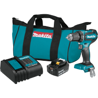 "18V LXT® Lithium-Ion Brushless Cordless 1/2"" Driver-Drill Kit (3.0Ah)"