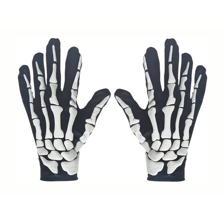 Halloween Costume Skeleton Gloves by Ganz](Halloween Costumes Skeleton Gloves)