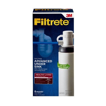 3M Filtrete Under-Sink Advanced Water Filtration System