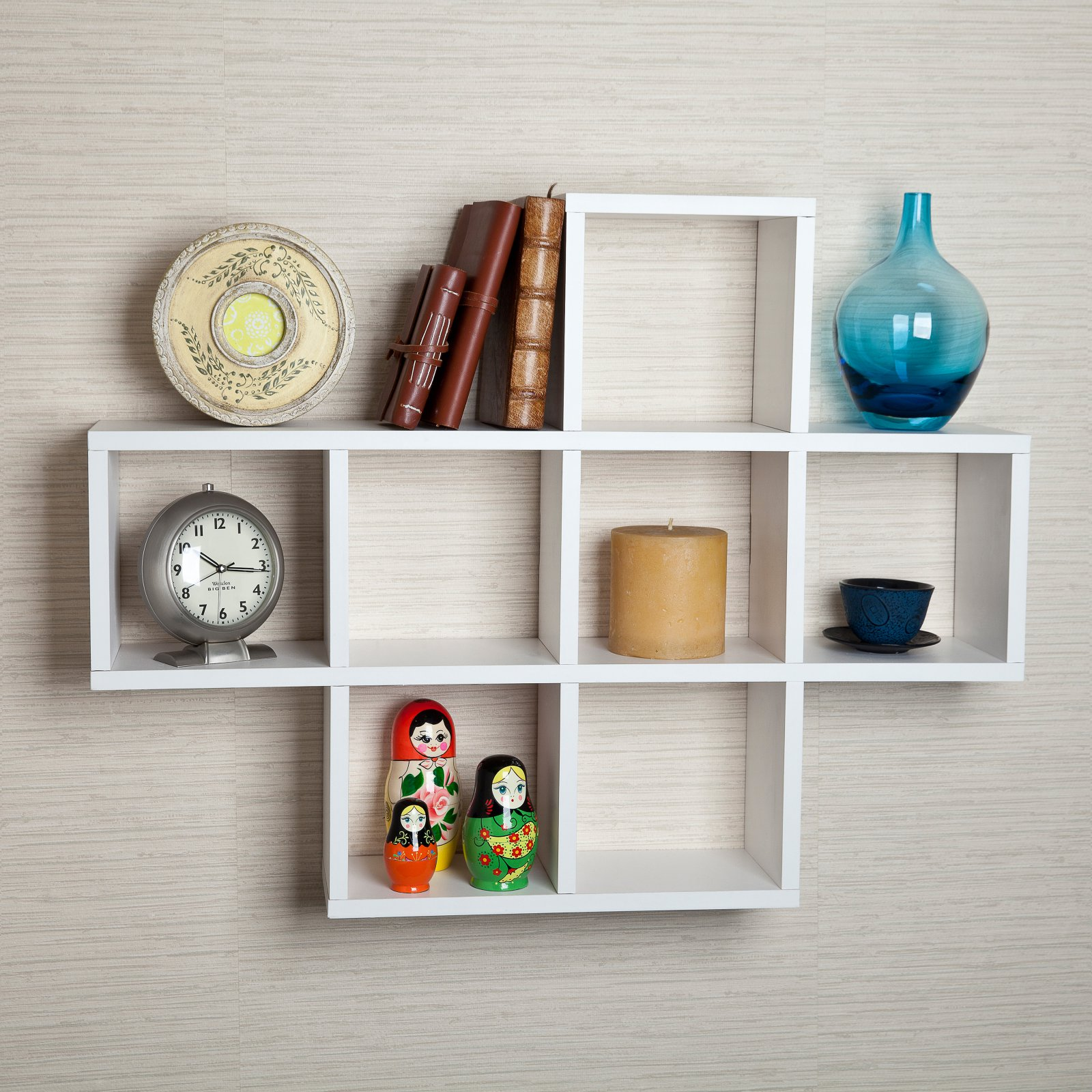 Danya B Cubby Laminated Shelving Unit