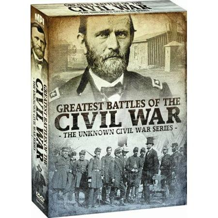 Greatest Battles of the Civil War: The Unknown Civil War Series (DVD)
