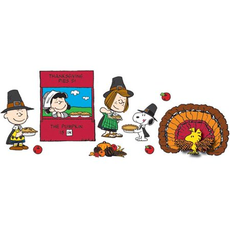 A Charlie Brown Thanksgiving Bulletin Board Set