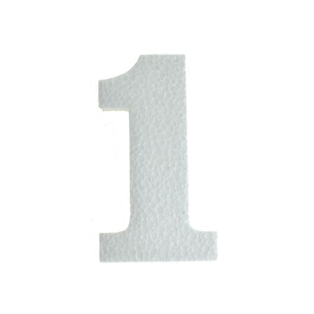 Craft Styrofoam Number Cut Out