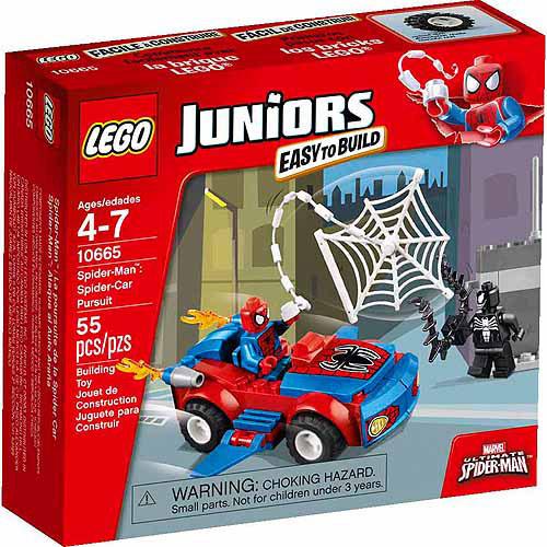 LEGO Juniors Spider-Man Spider-Car Pursuit 10665