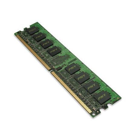 PNY Optima 1GB DDR2 667 MHz PC2-5300 Desktop DIMM Memory Module MD1024SD2-667